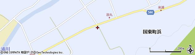 大分県国東市国東町浜4283周辺の地図