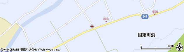 大分県国東市国東町浜4336周辺の地図