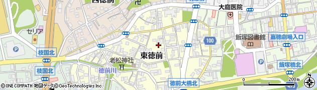 福岡県飯塚市東徳前周辺の地図