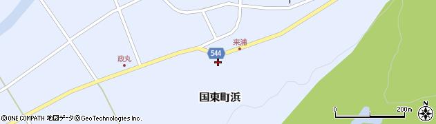 大分県国東市国東町浜3975周辺の地図