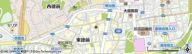 グリコ牛乳飯塚販売店周辺の地図