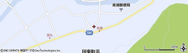 大分県国東市国東町浜4441周辺の地図