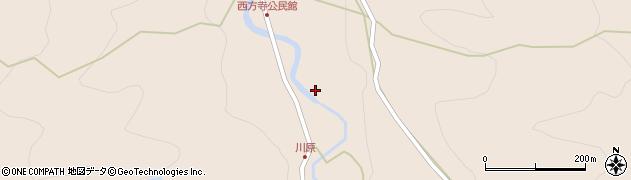 大分県国東市国見町西方寺592周辺の地図