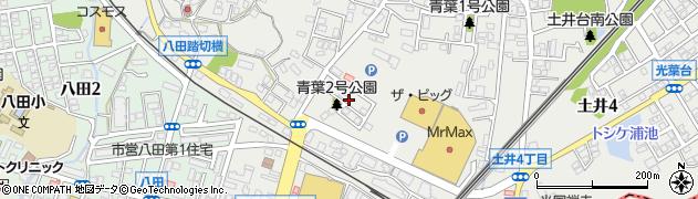 土井団地周辺の地図