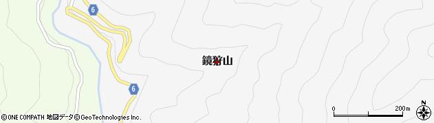 高知県高知市鏡狩山周辺の地図