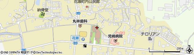福岡県飯塚市花瀬周辺の地図