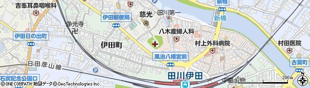 風治八幡神社周辺の地図