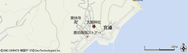 福岡県福岡市西区宮浦周辺の地図