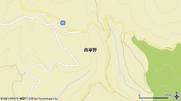 〒649-5453 和歌山県東牟婁郡那智勝浦町南平野の地図