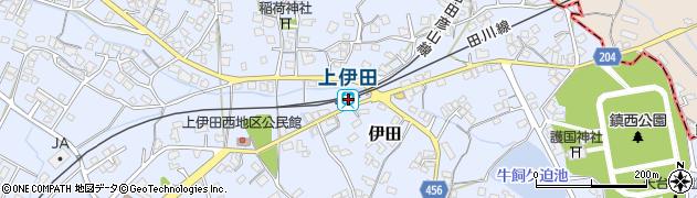 福岡県田川市周辺の地図
