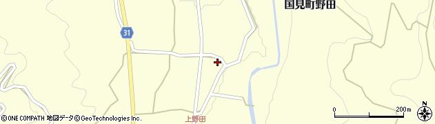 大分県国東市国見町野田1510周辺の地図