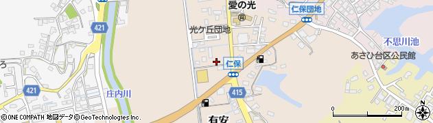 たこ道楽仁保店周辺の地図