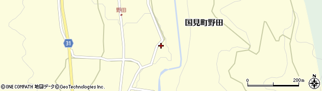 大分県国東市国見町野田910周辺の地図