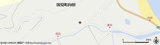 大分県国東市国見町向田167周辺の地図