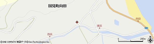 大分県国東市国見町向田1795周辺の地図