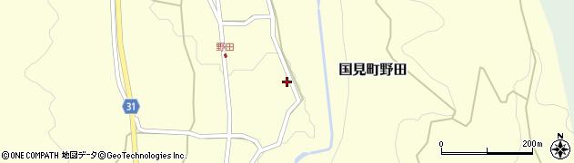 大分県国東市国見町野田931周辺の地図