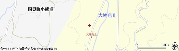 大分県国東市国見町大熊毛682周辺の地図