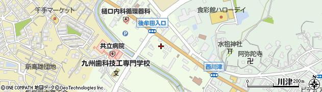 テクノ産業株式会社周辺の地図