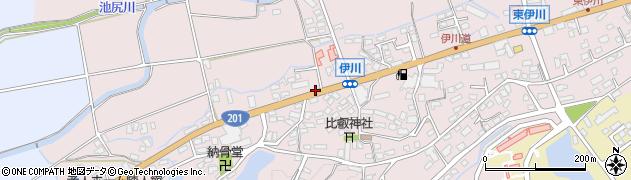 福岡県飯塚市伊川周辺の地図