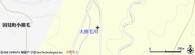 大分県国東市国見町大熊毛1606周辺の地図