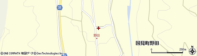 大分県国東市国見町野田833周辺の地図