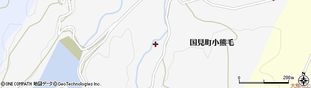 大分県国東市国見町小熊毛710周辺の地図