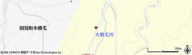 大分県国東市国見町大熊毛1600周辺の地図