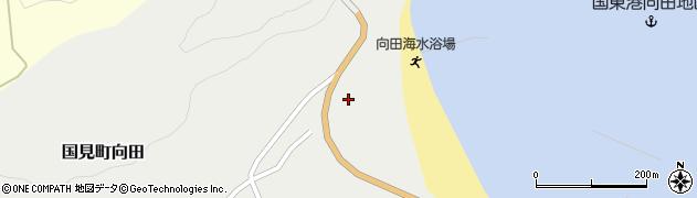 大分県国東市国見町向田1878周辺の地図