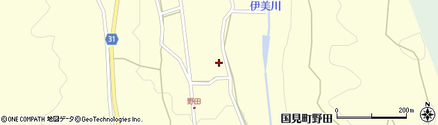 大分県国東市国見町野田813周辺の地図