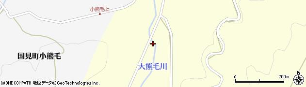 大分県国東市国見町大熊毛159周辺の地図