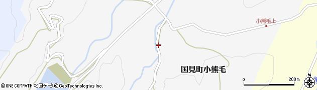大分県国東市国見町小熊毛665周辺の地図