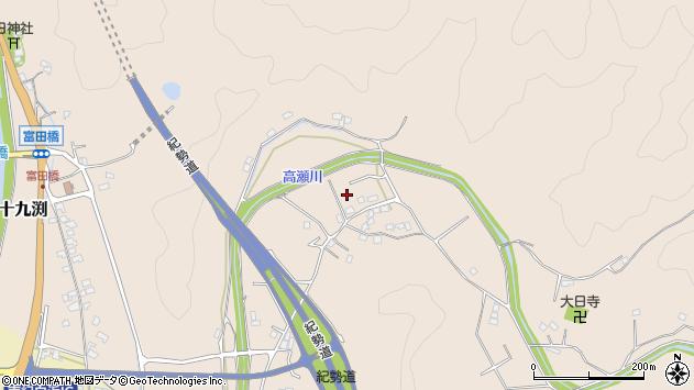 〒649-2324 和歌山県西牟婁郡白浜町十九渕の地図