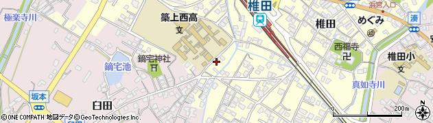 久保畳襖店周辺の地図