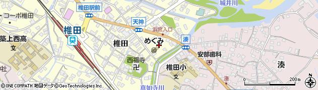 法顕寺周辺の地図