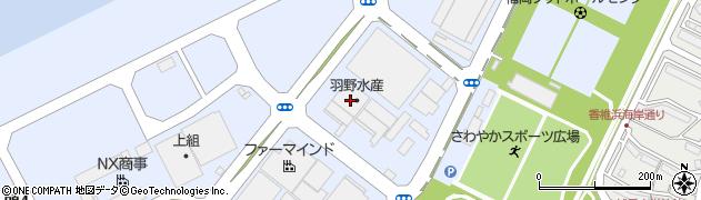 株式会社ヤマザキ食販 加工場周辺の地図