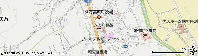 久万高原駅やまなみ周辺の地図