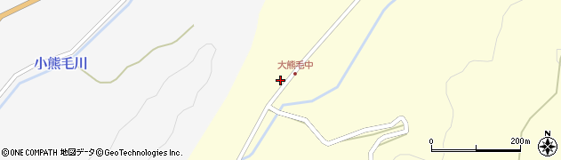 大分県国東市国見町大熊毛299周辺の地図