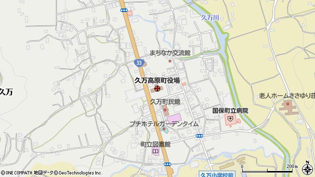 〒791-1200 愛媛県上浮穴郡久万高原町(以下に掲載がない場合)の地図