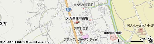 愛媛県久万高原町(上浮穴郡)周辺の地図
