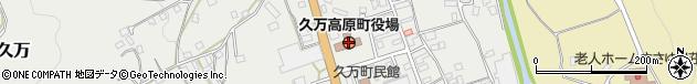 愛媛県上浮穴郡久万高原町周辺の地図