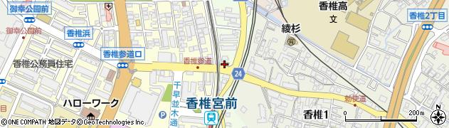 福岡カイロプラクティックたんぽぽ周辺の地図