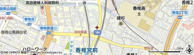 浜男神社周辺の地図
