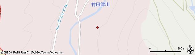 大分県国東市国見町竹田津井上周辺の地図