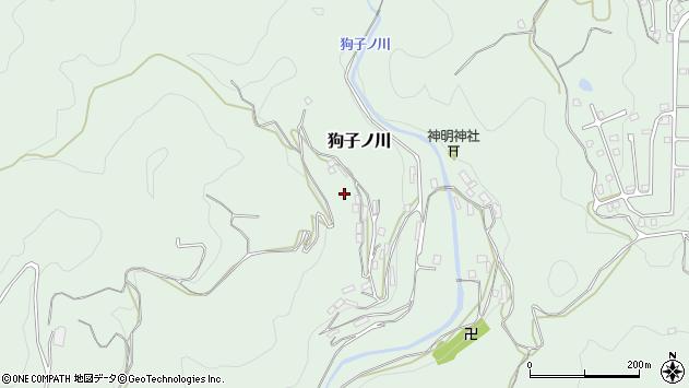 〒649-5313 和歌山県東牟婁郡那智勝浦町狗子ノ川の地図