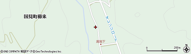 大分県国東市国見町櫛来2653周辺の地図