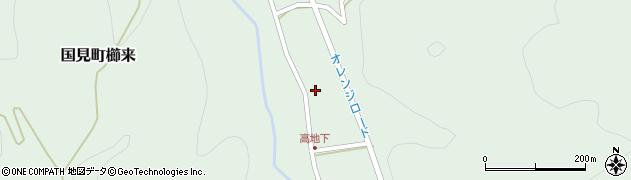 大分県国東市国見町櫛来2819周辺の地図
