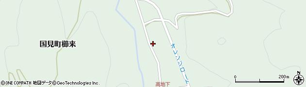 大分県国東市国見町櫛来2841周辺の地図