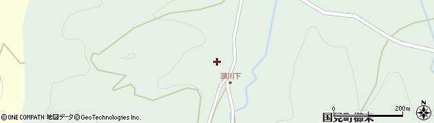 大分県国東市国見町櫛来1149周辺の地図