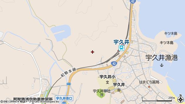 〒649-5312 和歌山県東牟婁郡那智勝浦町宇久井の地図