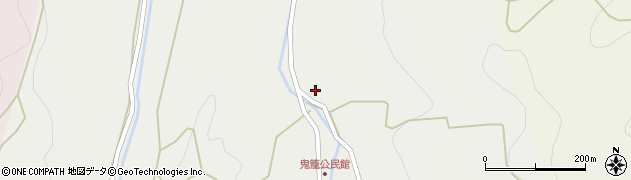 大分県国東市国見町鬼籠1558周辺の地図